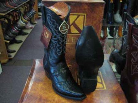 Exotic Black Western Cowboy