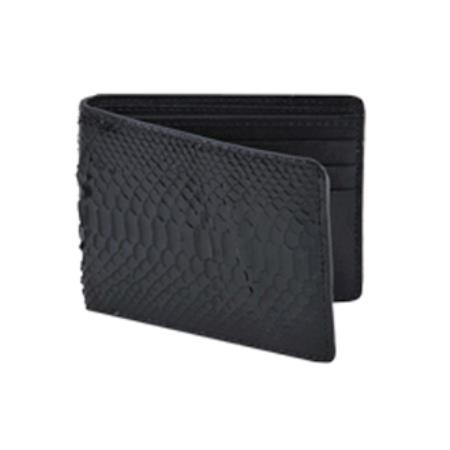 West Boots Wallet-Black Genuine