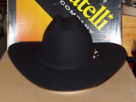 SKU#KA9630 Serratelli Designer 6x Old Stone Western Cowboy Hat