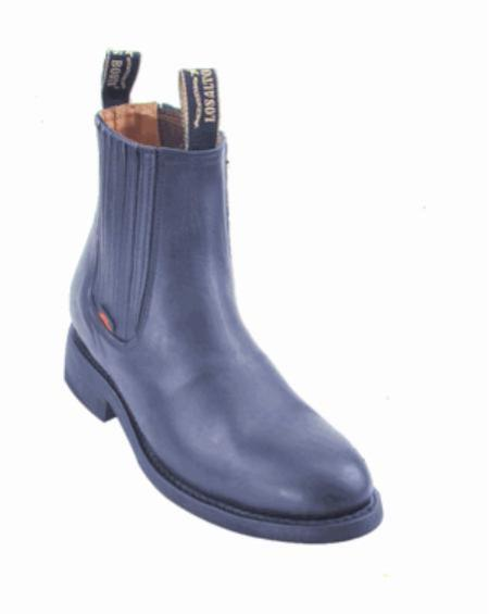 Mens Los Altos Short Work Boot ~ botines para hombre Navy Blue