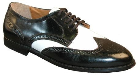 SKU# 65700 Black & White  Shoes Sold With Our Zoot Suits Only AS a Package $99