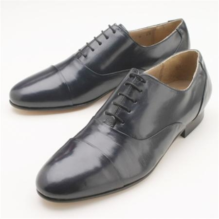SKU# 244851 Black Shoes DOUBLE FOLDED CAP TOE BAL $99