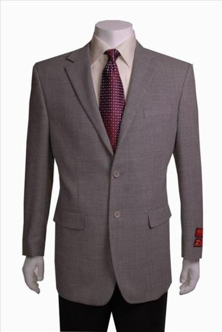 SKU#BA999 Black/White Birdseye Blazer 2 Button Wool $225