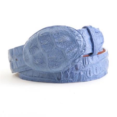 Blue Jean caiman ~ alligator Belt