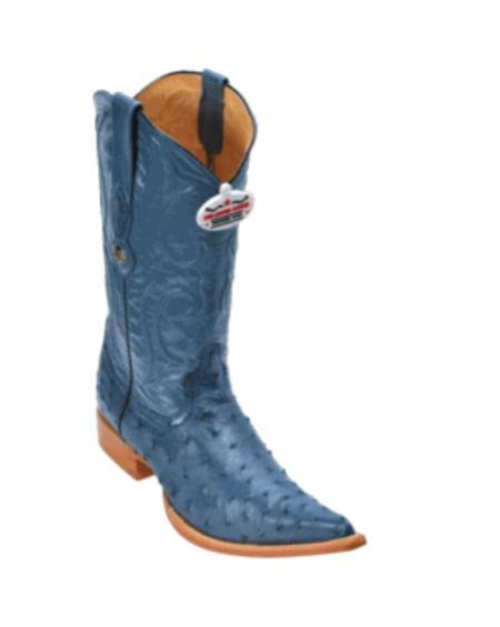 Jean Ostrich Cowboy Boots