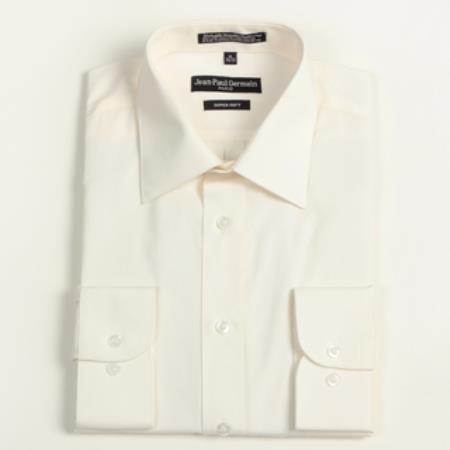 Bone Convertible Cuff Big & Tall Shirt 18 19 20 21 22 Inch Neck Men's Dress Shirt