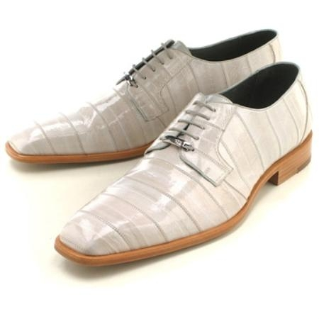 SKU#REP234 Bone Eelskin Oxford $239