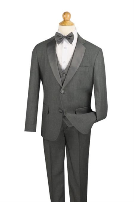Button Boys Notch Lapel