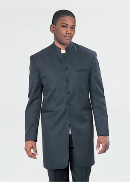 Church Suit Black Cream
