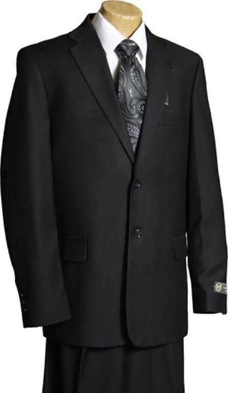 Buy KA9648 Boys Black 2 Button Italian Design Suit