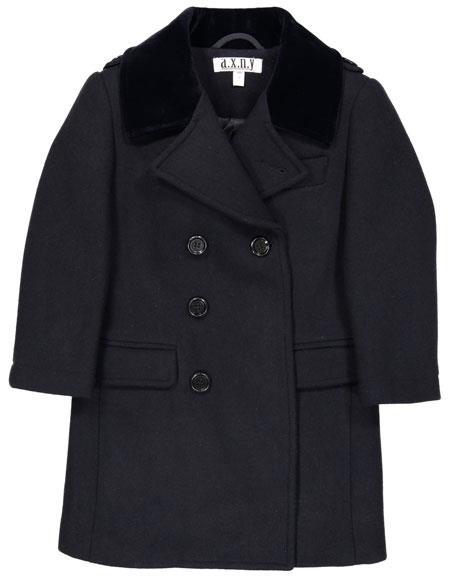 Boys ~ Children ~ Kids Toddler Outerwear Coat Dark Navy ~ Charcoal