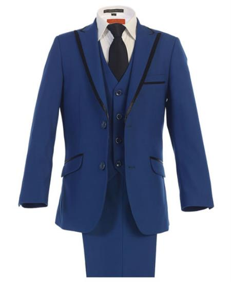 Kids Sizes Tuxedo Suit