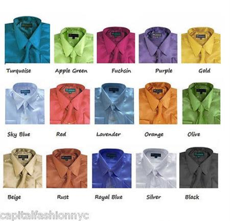 Kids Dress Shirt Set