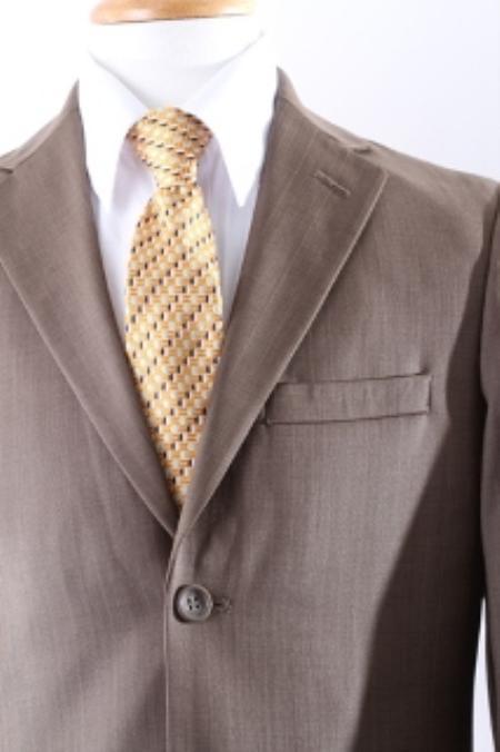 SKU#KA8769 Two Button Boy Dress Suit