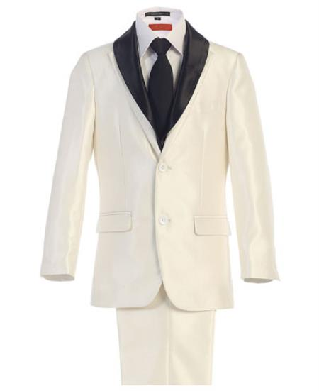Kids Sizes White Suit