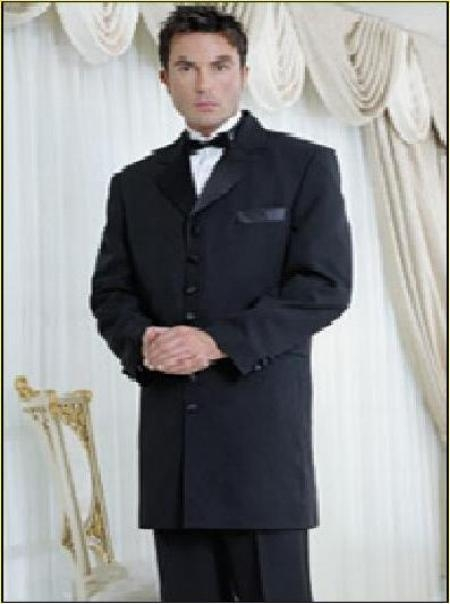 SKU# H4303 Brand New Tuxedo Long Suit $149