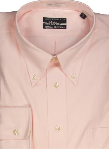 Gitman Brothers Pinpoint Oxford Five Collar Styles Pink On Sale: $74