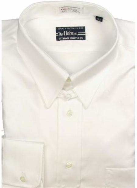 Gitman Brothers Pinpoint Oxford Five Collar Styles White On Sale: $74