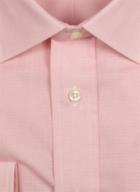 Gitman Brothers Shepherds Check Two Collar Styles pink On sale: $90