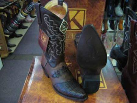 Exotic Brown Western Cowboy
