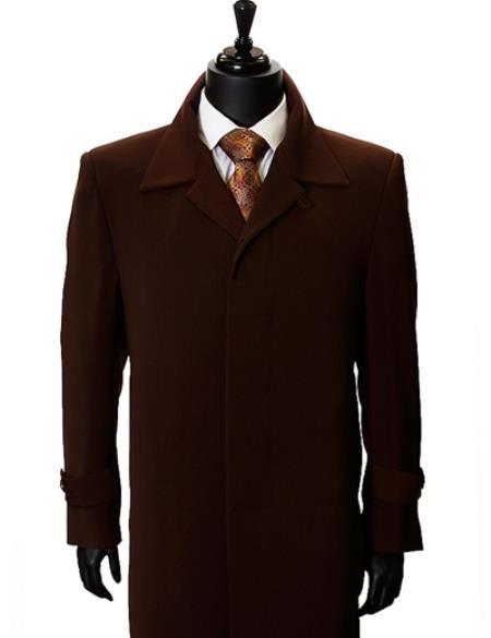 Maxi Overcoat Inch Maxi Length Duster Coat Mens Dress
