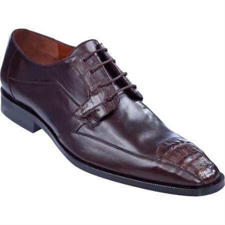 Tip Dress Shoe Brown