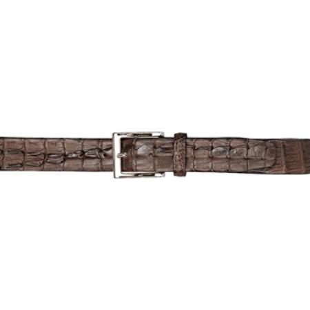 Brown Hornback Belt