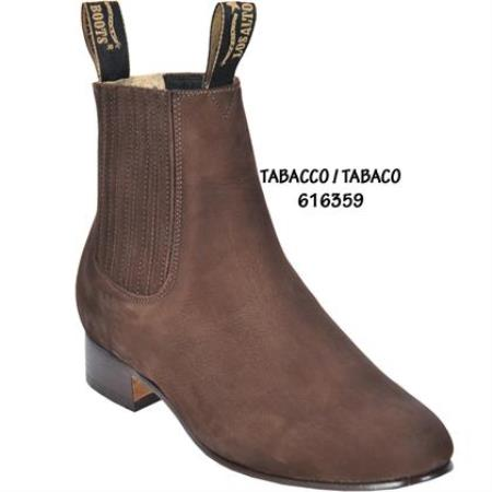 Short Boot - Tabacco