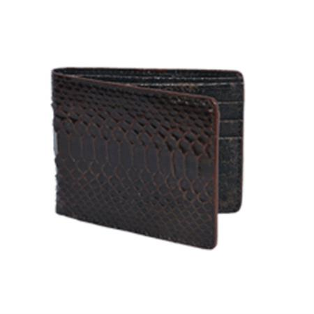 West Boots Wallet-Brown Genuine