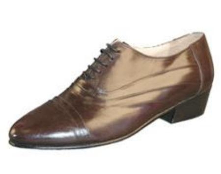 SKU# 244851 Brown Shoes DOUBLE FOLDED CAP TOE BAL $99