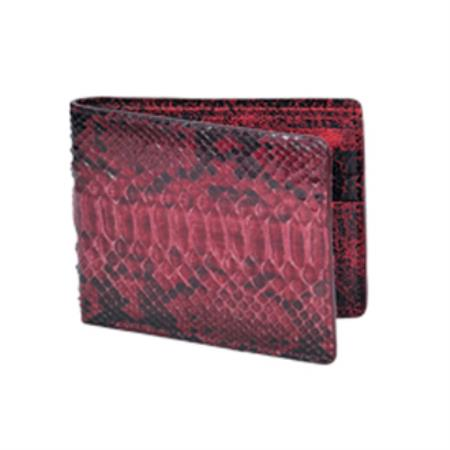 West Boots Wallet-Burgundy ~