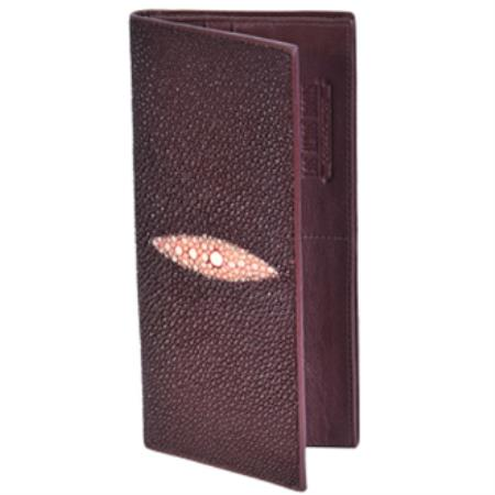 West Boots Checkbook-Burgundy ~