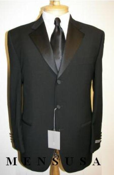 MensUSA.com 3 Button Notch Collor Super 130s Wool Jacket Pants(Exchange only policy) at Sears.com