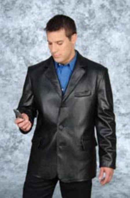 SKU#UZ537 3 Button blazer Black $249