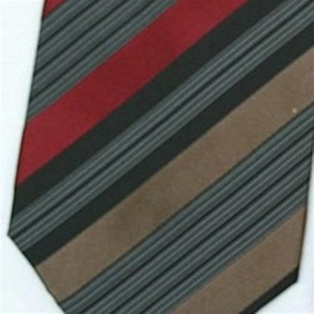 SKU#SW431CL  Silk Brown/Black/Tan/Burgundy Extra Long Woven Necktie