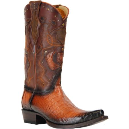 King Exotic Boots Caiman