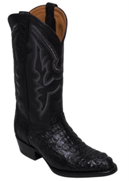 SKU#NF7487 Caiman Body Crocodile Black - R Toe $329