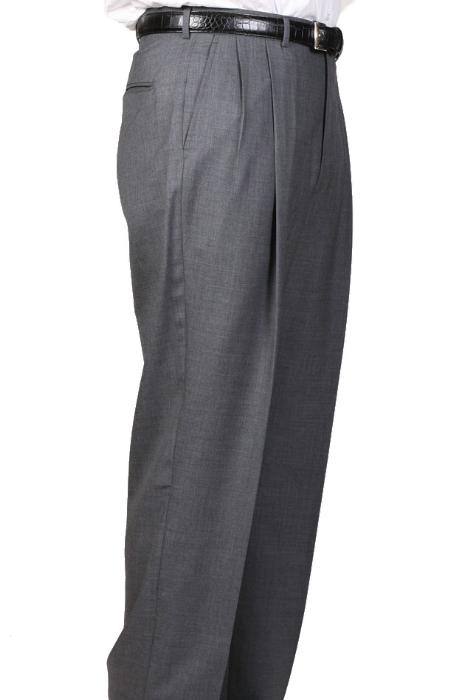 SKU#3705 Cambridge Somerset Double-Pleated Slaks / Dress Pants Trouser Harwick Made In USA America $110