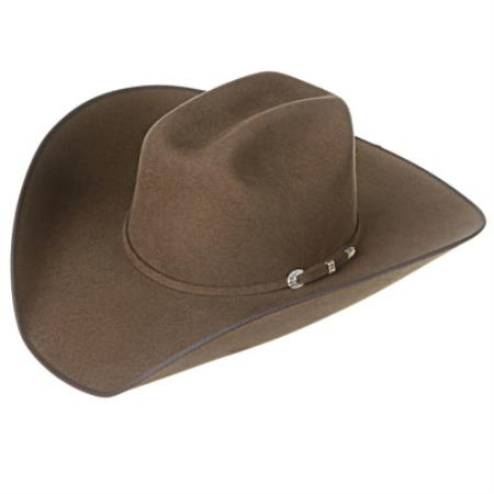 Walnut Felt Cowboy Hats