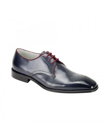 Buy KH172 Men's Genuine Cap Toe Oxford Lace Leather Dress Casual Shoes Cole Grey