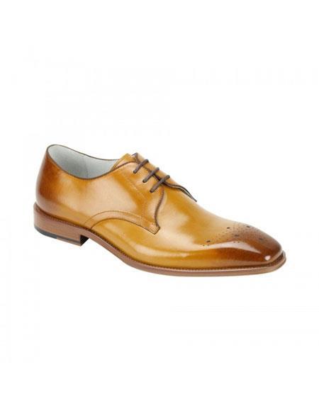 Buy KH170 Men's Cole Scotch Genuine Cap Toe Oxford Lace Leather Dress Casual Shoes