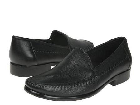 SKU# 67056 Classic Moc Slip On ~ Loafer With Brush-Off leather. Leather sole
