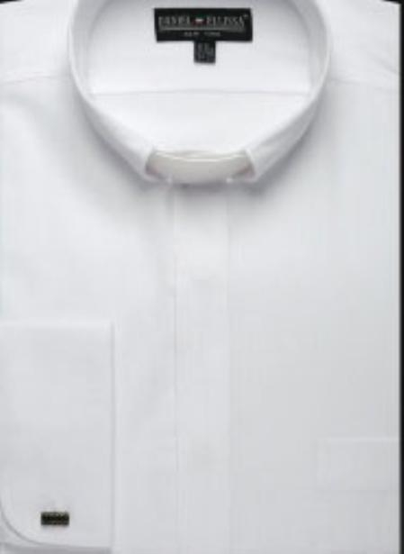 SKU#BJ123 Mens Clergy Collar Shirt