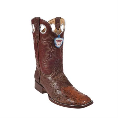 West - Boots Ostrich