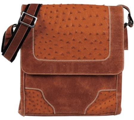 Ostrich Cross Body Bag