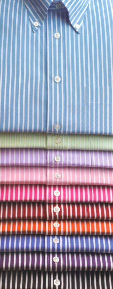 Gitman Colorful Reverse Stripe Button Down Dress Shirts Many Colors $115