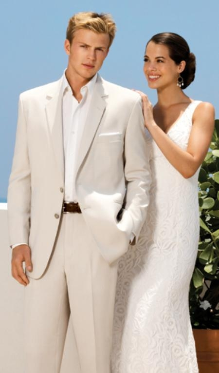 SKU# SAM_2B_Notch  Cool Light Weight Two Button Cashmere feel~touch  Notch Wedding Suits 6 Colors
