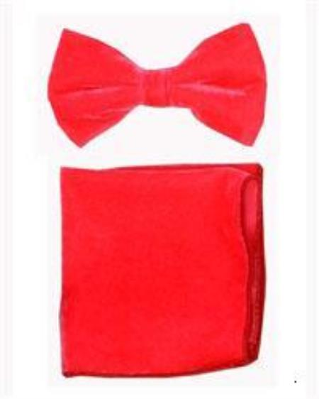 Bowtie with Hanky Coral