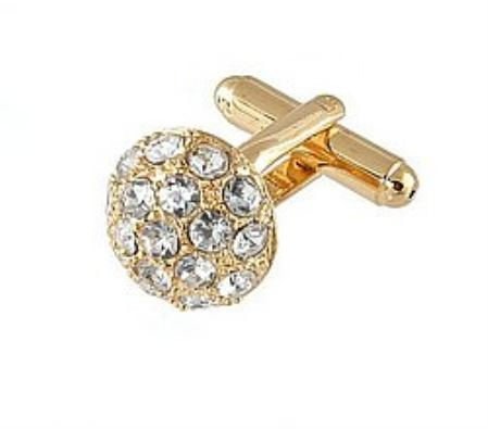 SKU#PH811 Cufflinks Gold Xk 0068G Diamond $39