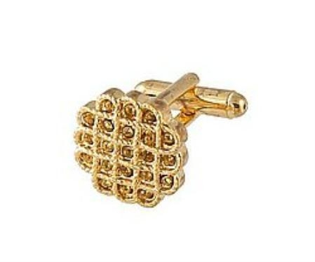 SKU#NC001 Cufflinks Gold Xk 0023G Brown $39